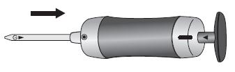 GV-100 氣體進入方向